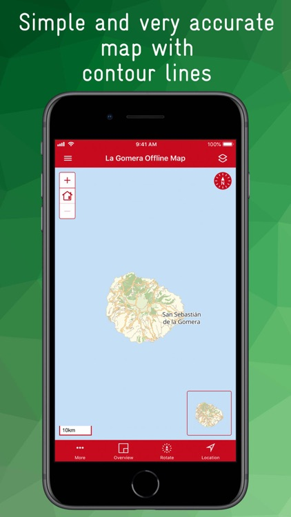 La Gomera Offline Map
