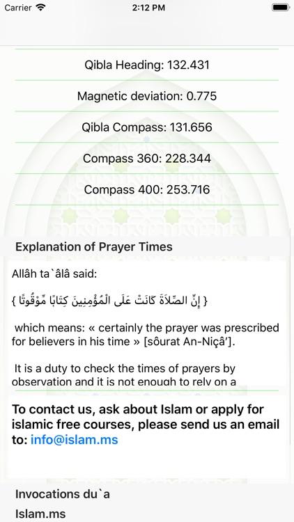 Islam.ms Prayer Times & Qibla screenshot-4