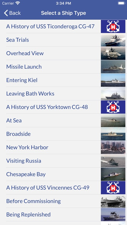 U.S Navy Ships: A History screenshot-3
