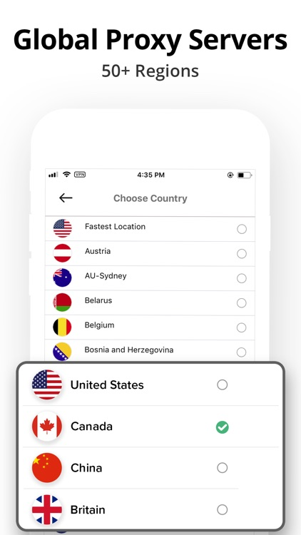 VPN Clean: Super proxy master screenshot-3