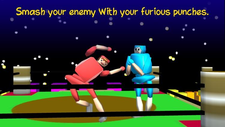Drunken Wrestlers 3D Fighter screenshot-0