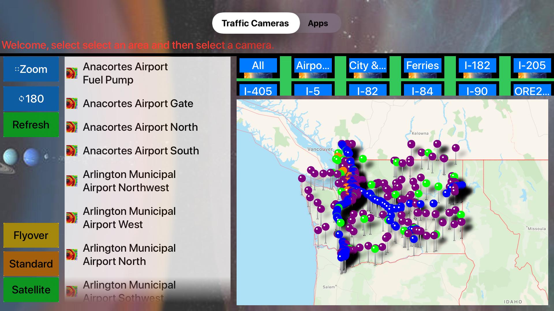 Traffic Camera Washington Lite screenshot 13