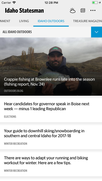 Idaho Statesman News review screenshots