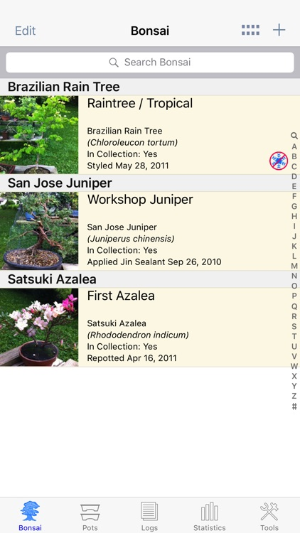 Bonsai Album screenshot-0