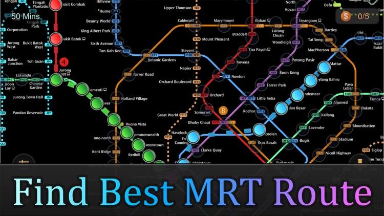 Singapore MRT Map Route(Pro)