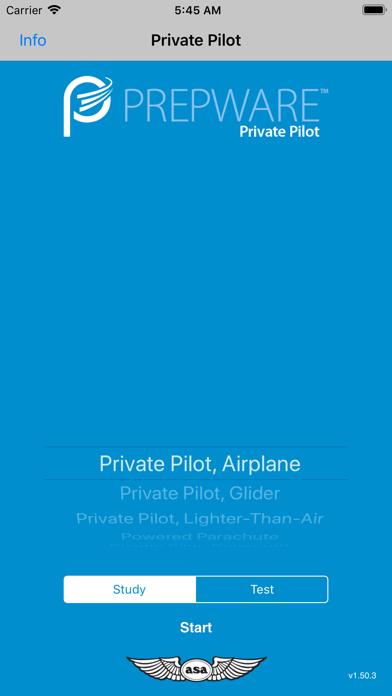 Prepware Private Pilot review screenshots