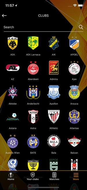 UEFA Europa League Official on the App Store