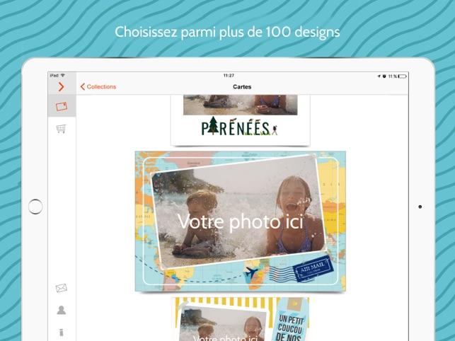 Popcarte - Carte Postale Photo Capture d'écran