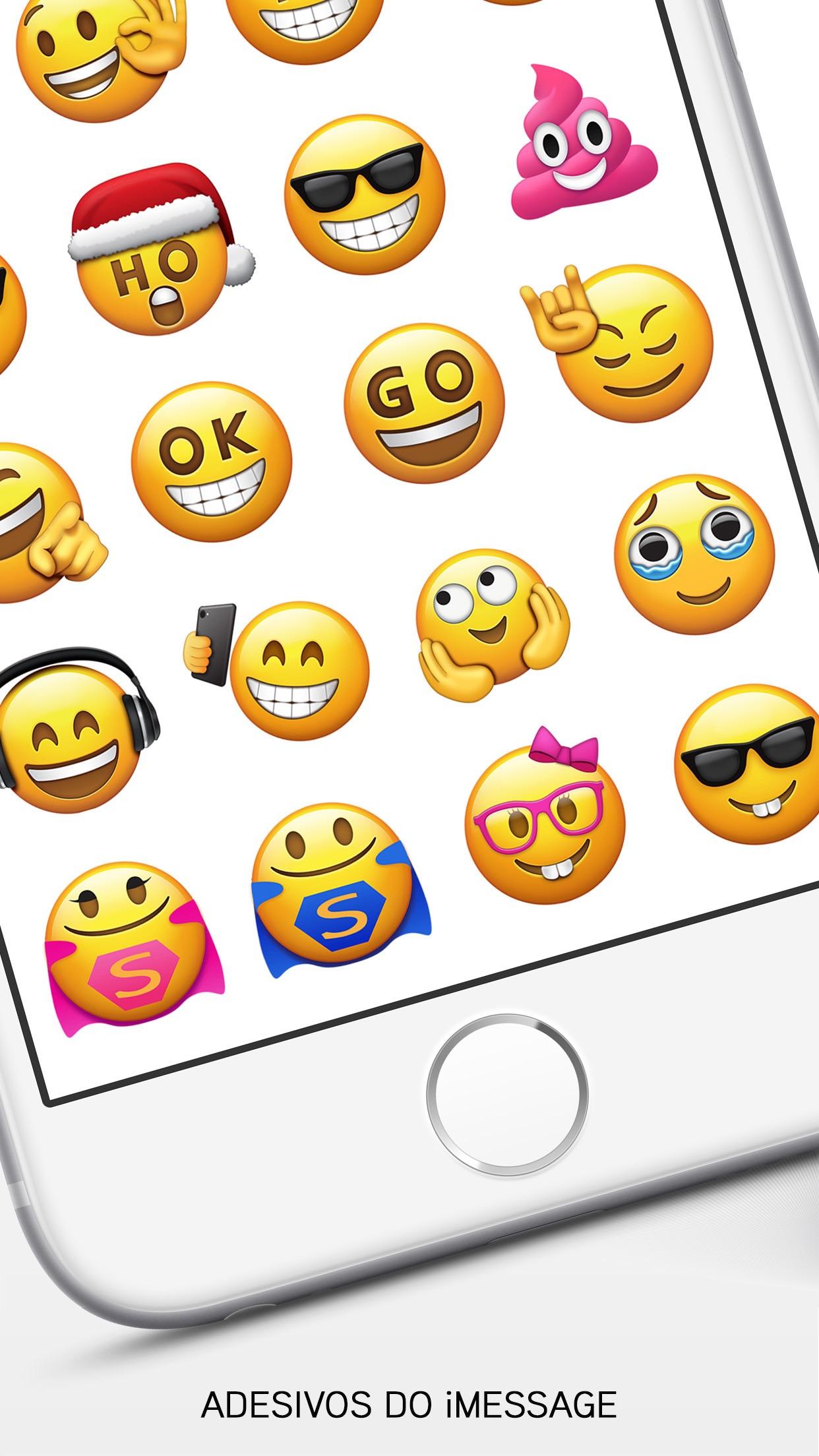 Screenshot do app Emoji>