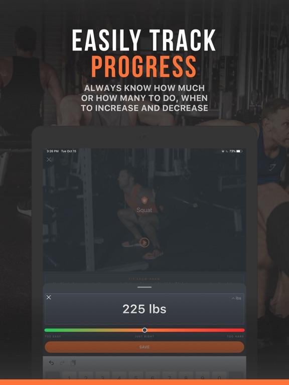 SHRED: Gym Workout & Tracker screenshot 13