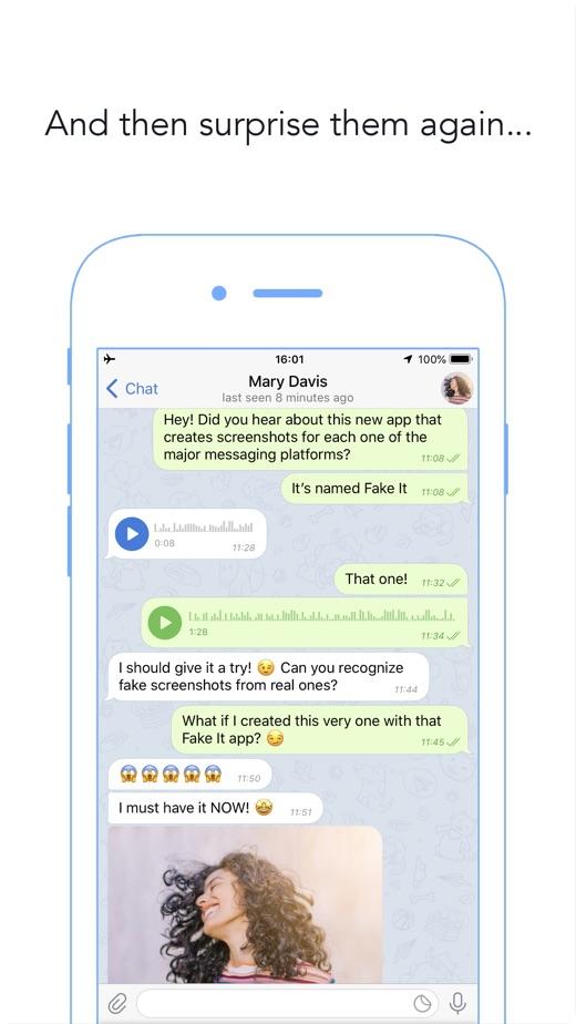 Fake It - Fake chat creator】版本记录- iOS App版本更新记录