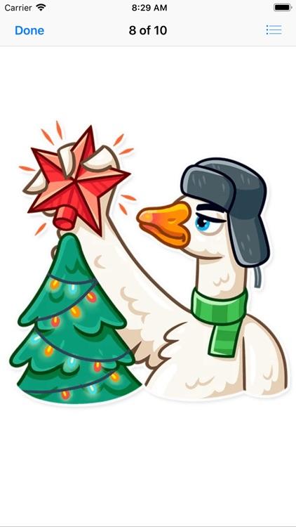 Christmas Goose New Year screenshot-8