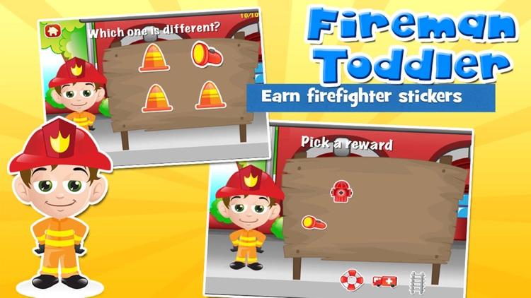 Fireman Toddler Games screenshot-3