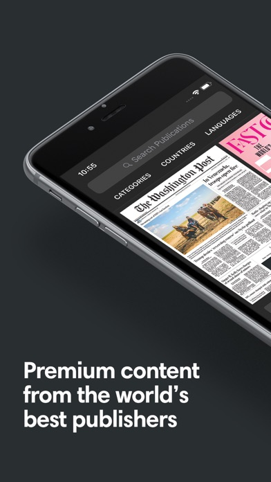 Screenshot for PressReader in Malaysia App Store