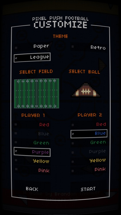 Pixel Push Football screenshot-5