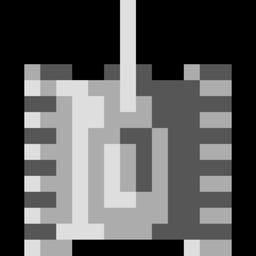 8-bit Console Tank