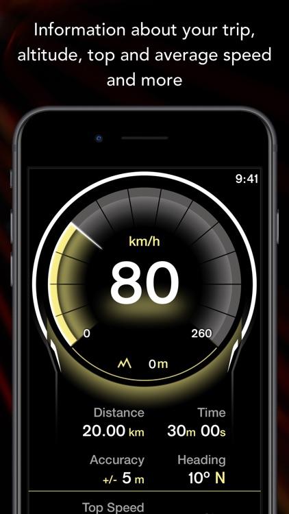 GPS Digital Speed Tracker Pro screenshot-4