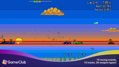 Pixel Boat Rush - GameClub screenshot 3
