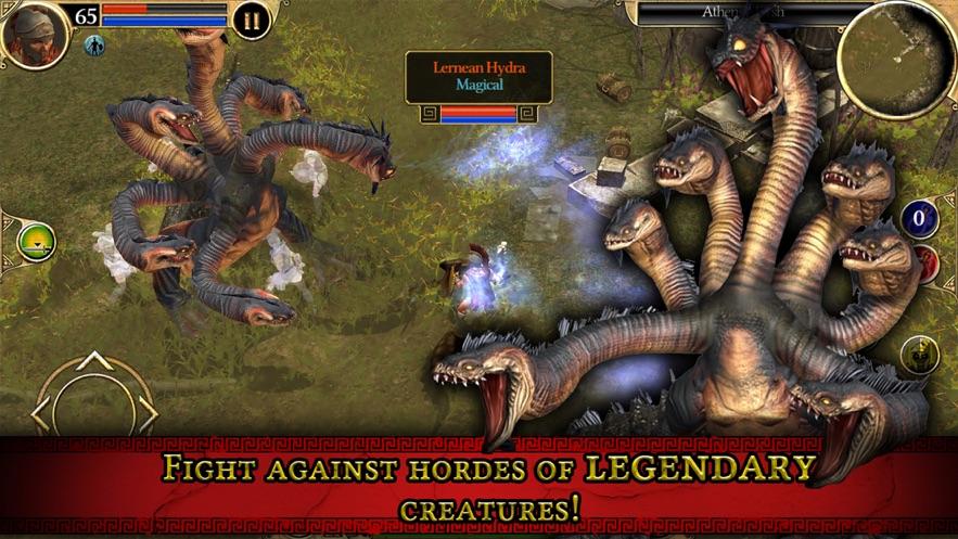 Titan Quest HD App 截图