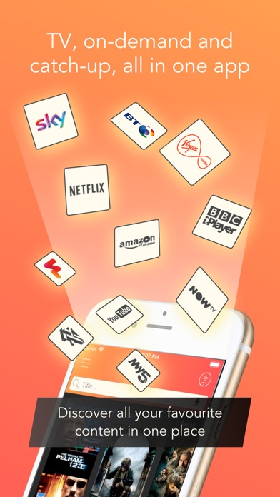 Utelly: TV & Streaming Guide screenshot one