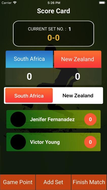 Footvolley Score Card screenshot-6