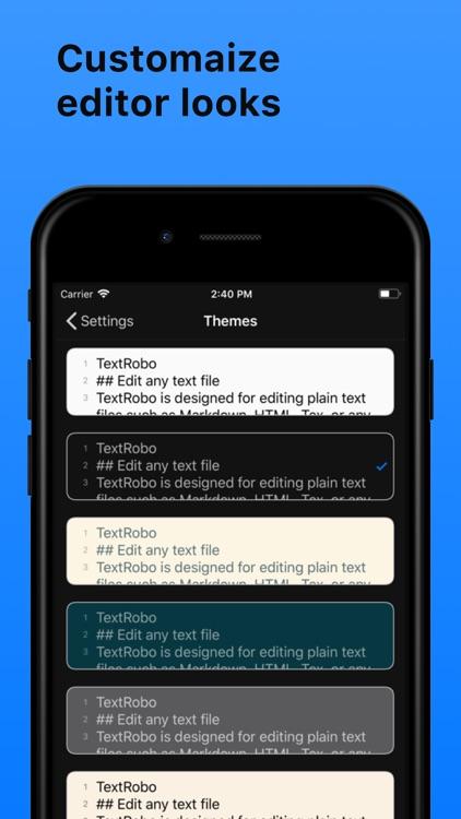 TextRobo screenshot-3