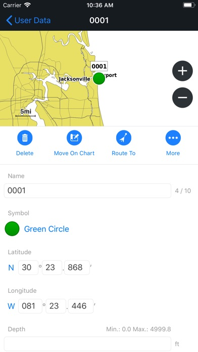 Garmin ActiveCaptain Screenshot