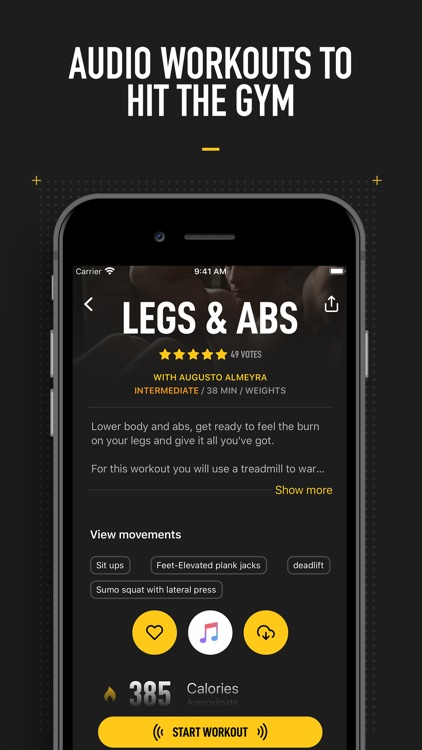 InstaFit Gym: Audio workouts screenshot-3