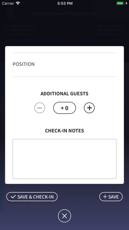 Event Check-In screenshot-4