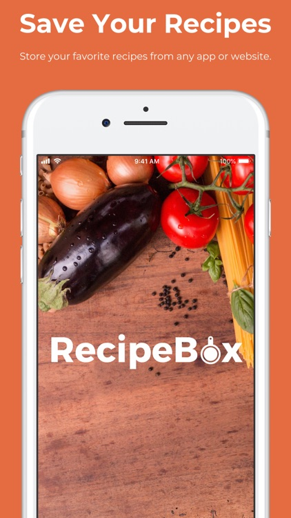 RecipeBox - Save Recipes Free