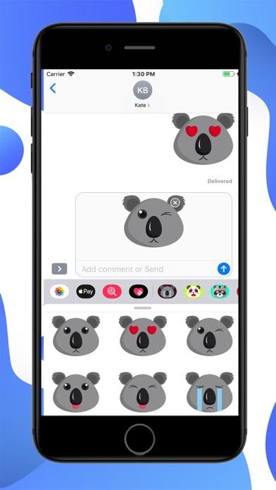 Koala Cartoon Stickers screenshot 2