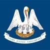 Louisiana emojis - USA sticker