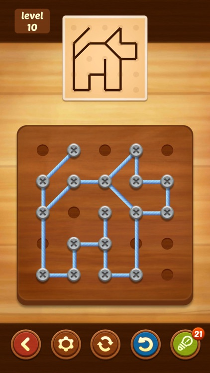 Line Puzzle: String Art screenshot-2