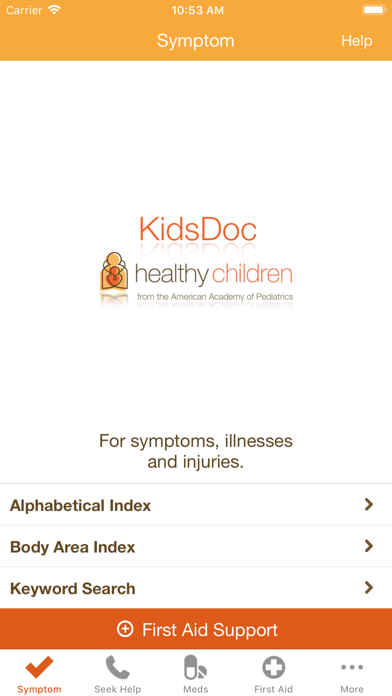 Kidsdoc review screenshots