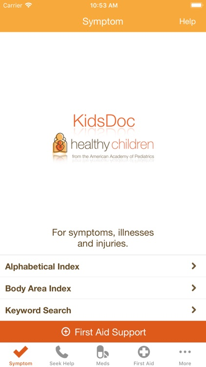 KidsDoc - from the AAP