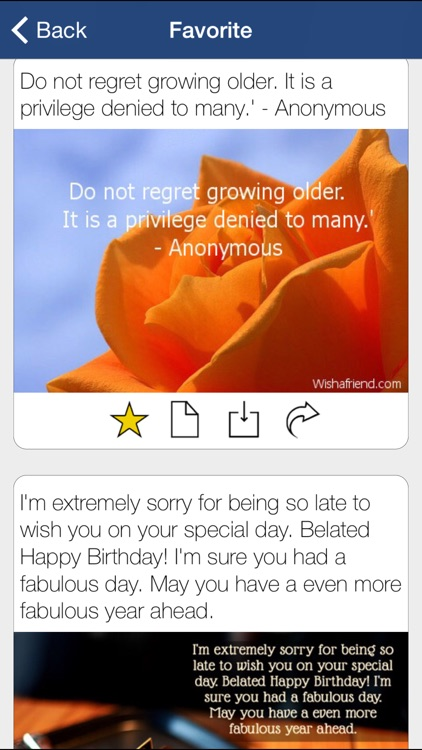 Happy Birthday Cards Messages screenshot-4