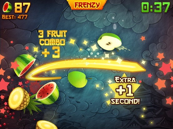 iPad Image of Fruit Ninja®