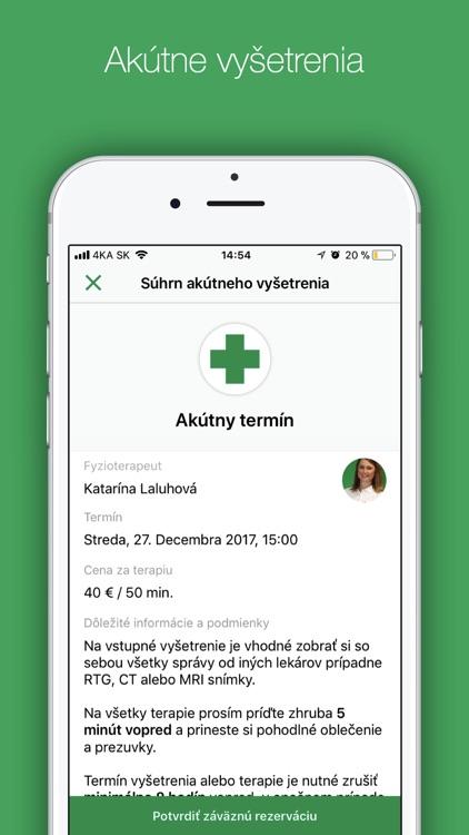 FYZIO KLINIK screenshot-3