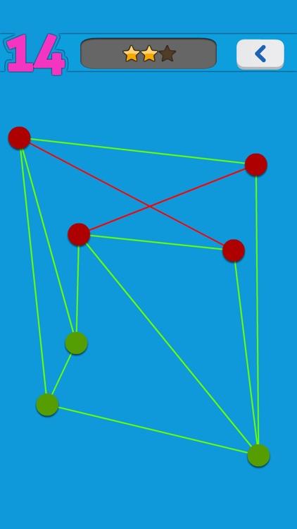 No Cross Line - puzzle game screenshot-4