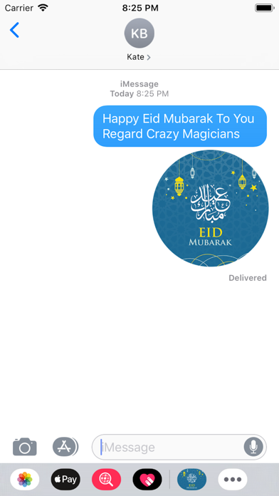 Eid Sticker 2019 screenshot #1