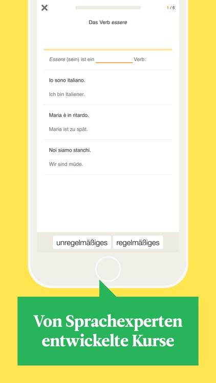 Babbel – Italienisch lernen screenshot-3