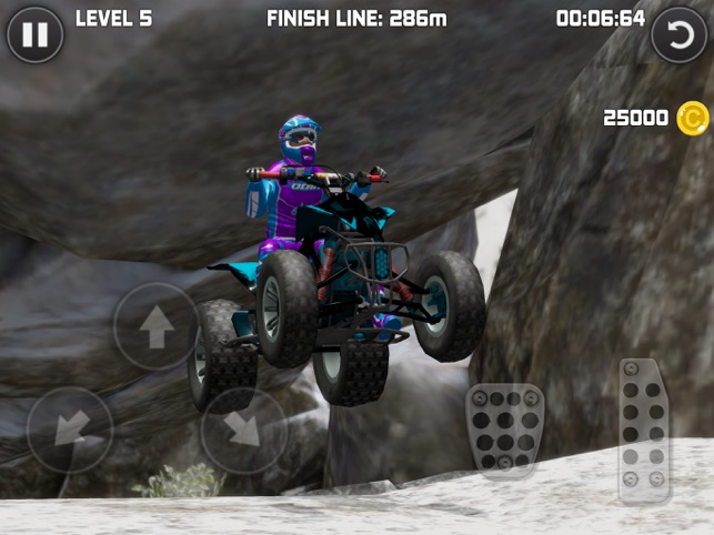 Bike Trials Winter 2, game for IOS