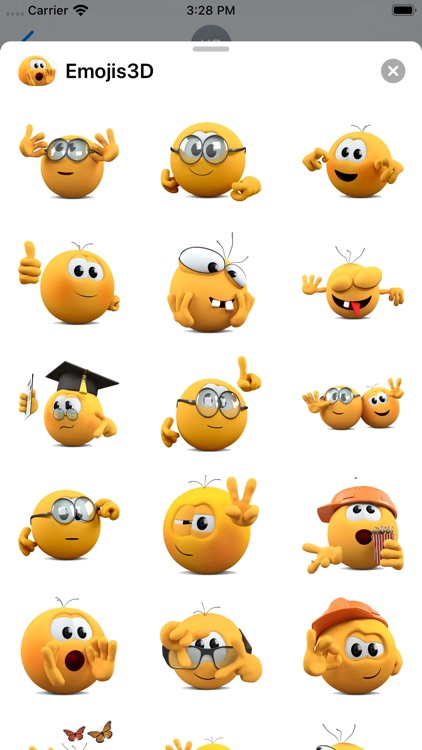 Emojis 3D Stickers