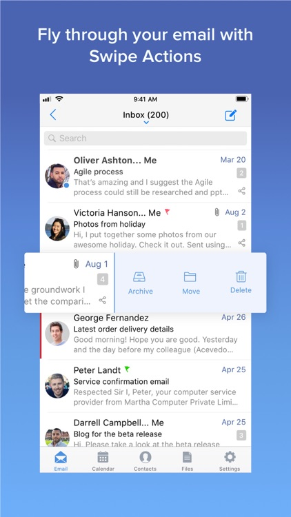 Zoho Mail - Email and Calendar screenshot-3