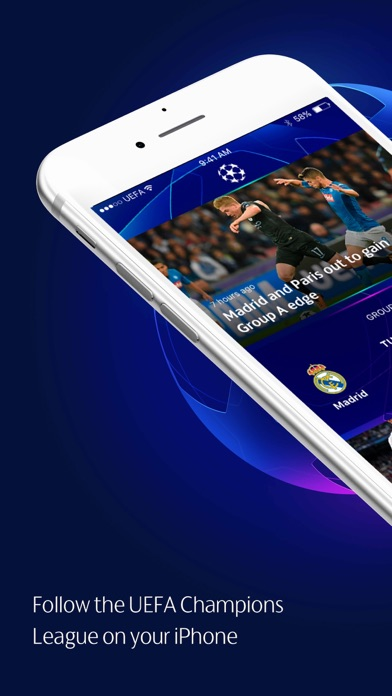 Screenshot for UEFA Champions League Official in United States App Store