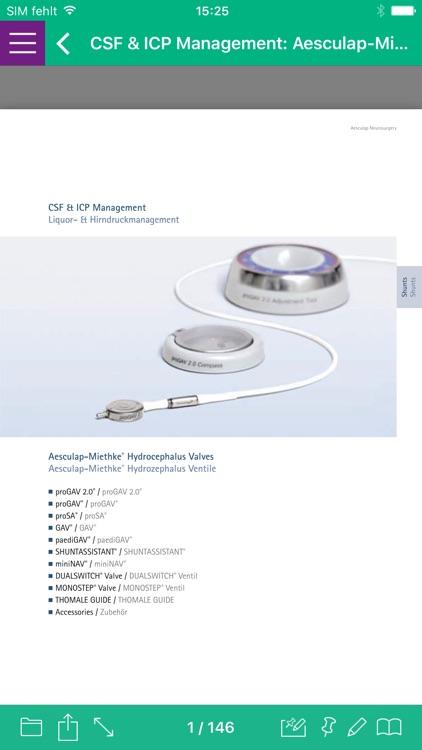 AESCULAP Neurosurgery Catalog by B  Braun Melsungen AG