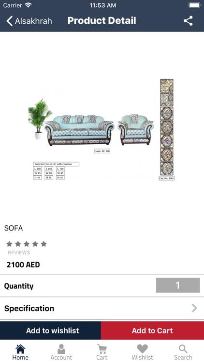Alsakhrah Furniture Group screenshot-4