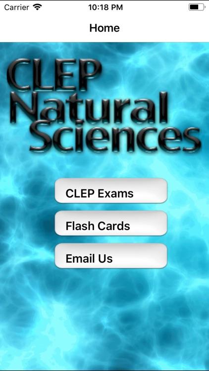 CLEP Natural Science Prep 2020 screenshot-0