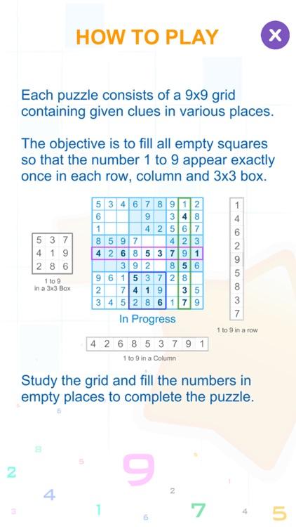 Sudoku Box Puzzle Game screenshot-3