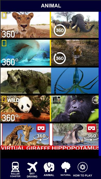 VR 360 Roller Coaster Video HD screenshot three